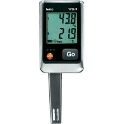 Testo 175 H1 (0572 1754) — 2х-канальный логгер данных влажности и температуры с внутренними сенсорами (NTC/емкостный сенсор влажности)