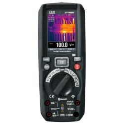 DT-9889 — мультиметр TRMS с встроенным тепловизором