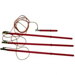 ЗПЛ10М-3, ЗПЛ-10М-3, ЗПЛ-10 Н3-заземление переносное для воздушных линий