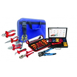 Набор диэлектрических инструментов для электромонтажа