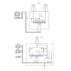 ТВС-25/2 — трансформатор прожига кабеля
