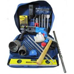 Набор инструментов для монтажа скрытой электропроводки