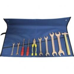 Набор омедненного инструмента автомобилиста НИА-6 в сумке-скрутке