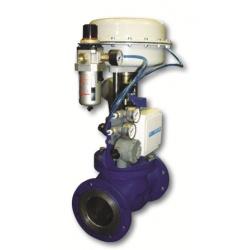 Клапан КПСР регулирующий, запорно-регулирующий, отсечной (серия 400)