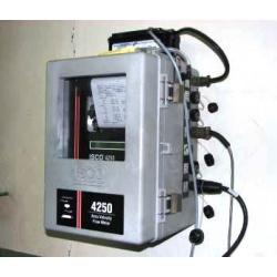 Расходомер для открытых каналов и безнапорных трубопроводов ISCO 4250 (прибор для измерения расхода воды)