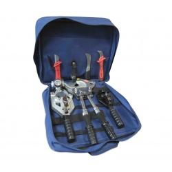 Набор инструмента для снятия полупроводящего слоя и изоляции с кабеля из сшитого полиэтилена НИР-СПЭ-03