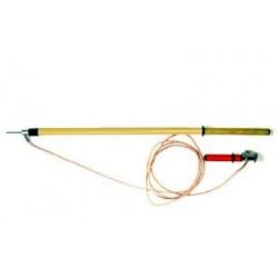 ШР-10 — штанга для разряда конденсаторов до 10 кВ или снятия потенциала
