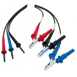 Доп. комплект 8м проводов (3шт) для 10/15кВ мегаомметра СА655х