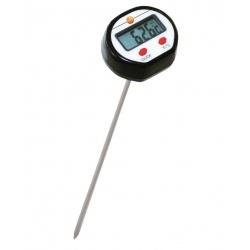 Testo мини-термометр погружной/проникающий стандартный — для измерений температуры воздуха, мягких или сыпучих субстанций, жидкостей