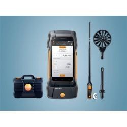 testo 400 (комплект для вентиляции с зондом-крыльчаткой 16 мм) - универсальный измерительный прибор для контроля микроклимата