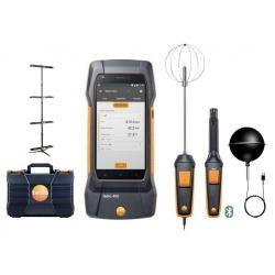 testo 400 (комплект для оценки качества воздуха и уровня комфорта в помещении со стойкой) - универсальный измерительный прибор для контроля микроклимата
