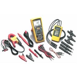 Fluke 1587/MDT FC -  комплект мультиметр-мегомметр c функцией беспроводной связи + токовые клещи + индикатор чередования фа