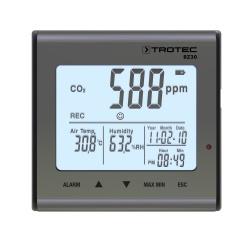 Trotec BZ30 — логгер температуры, влажности и углекислого газа