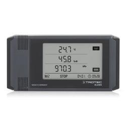 Trotec DL200D — логгер температуры, влажности, точки росы и давления