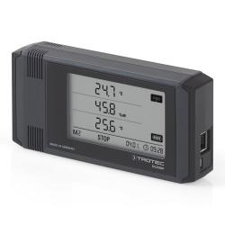 Trotec DL200P — логгер температуры, влажности воздуха и материалов