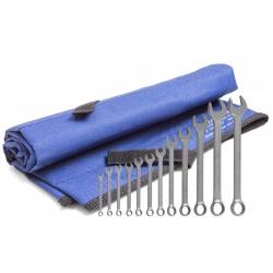 UT-10 Набор гаечных рожковых ключей в сумке-скрутке 6-32мм