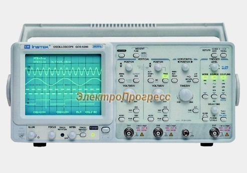 GOS-6103C - цифровой осциллограф