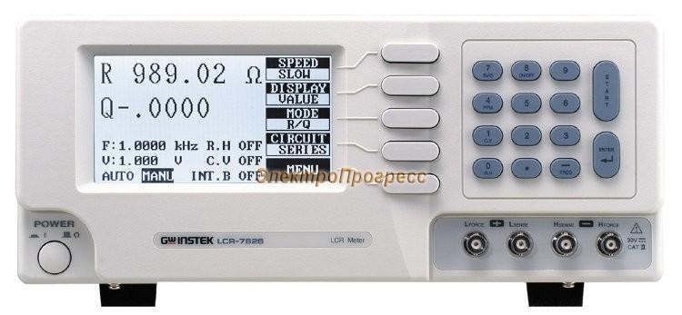 LCR-7819 - измеритель RLС параметров