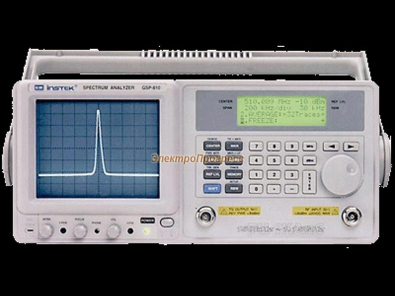 GSP-810 - анализатор спектра цифровой