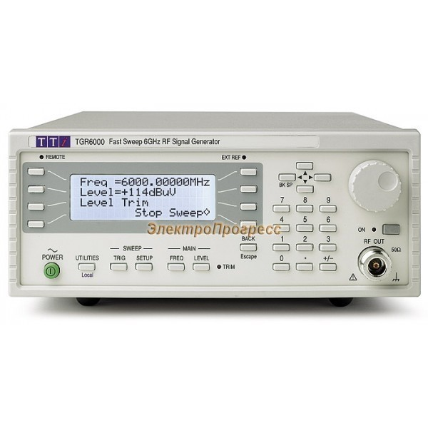 TGR6000 СВЧ генератор до 6 ГГц