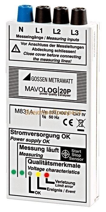 MAVOLOG 20P - анализатор показателей качества электросети