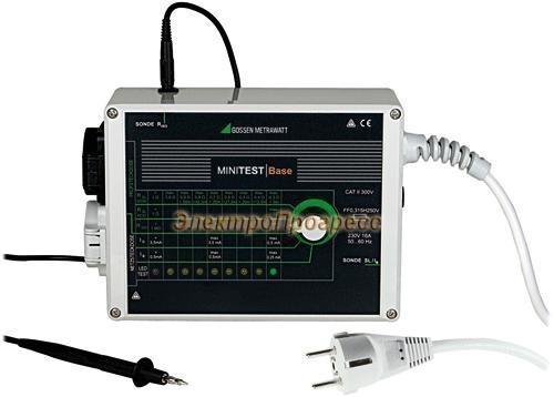 MINITEST BASE тестер параметров безопасности электрооборудования